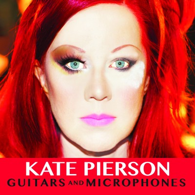 Kate Pierson_Guitars and Microphones_Album Cover